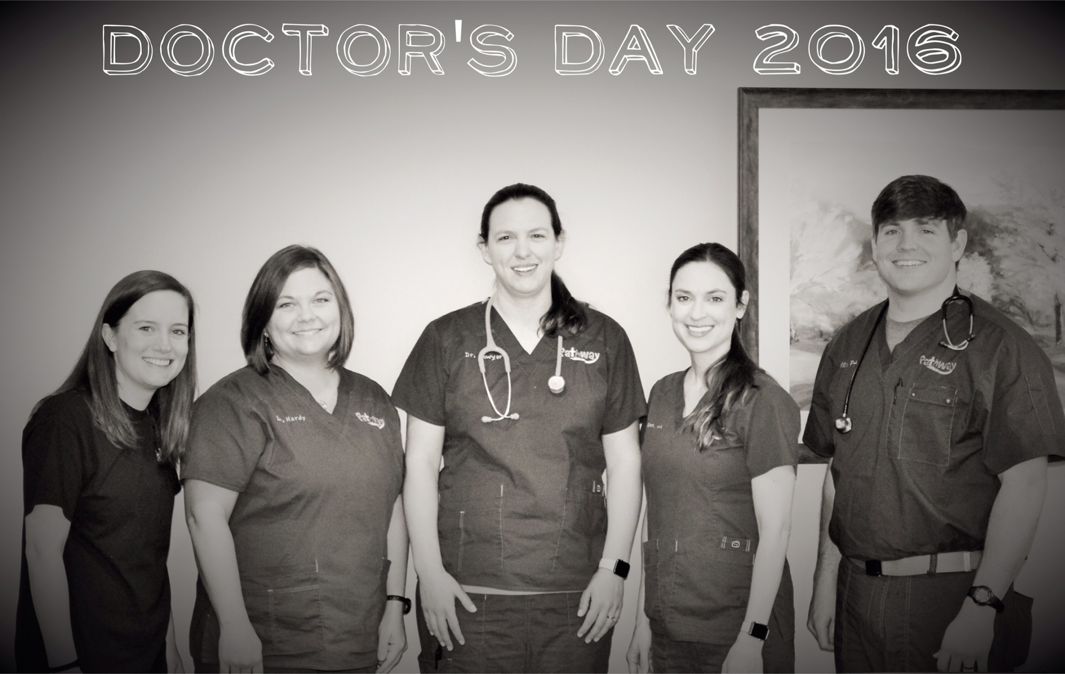 Happy Doctor's Day to our wonderful providers!