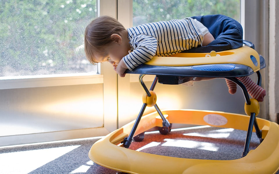 Infant Walkers…Just Say NO!